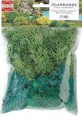 Busch 7102 Izlandi moszat, zöld, 35 g