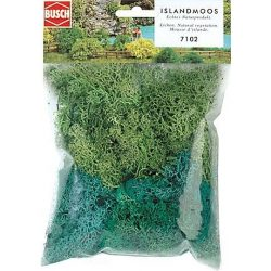 Busch 7102 Izlandi Moszat -  zöld  35 g