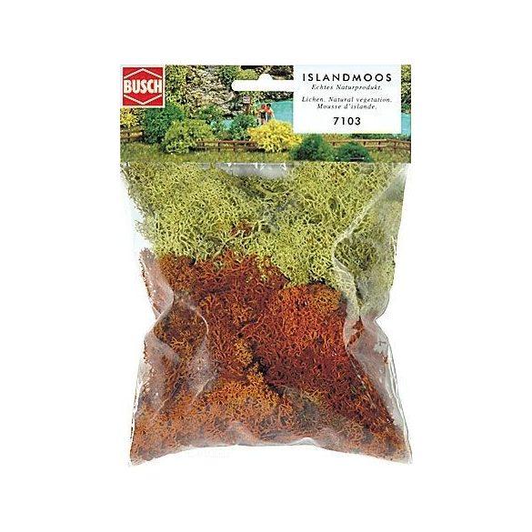 Busch 7103 Izlandi Moszat - sárga/barna 35 g
