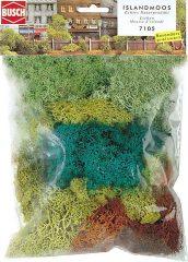 Busch 7105 Izlandi moszat, 4 színben,70 g