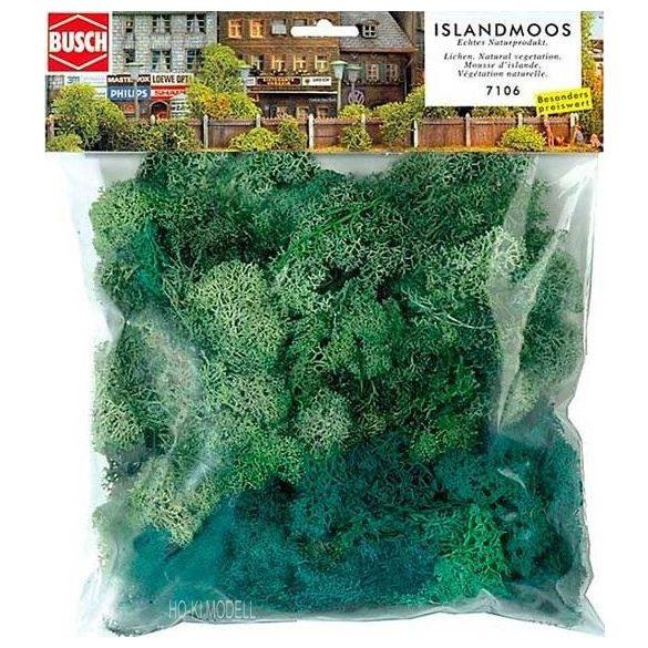 Busch 7106 Izlandi Moszat - zöld  150 g