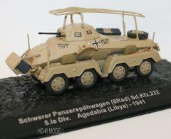 Schwerer Panzerspähwagen (8 Rad) Sd.Kfz.232 5.Ie Div. Agedabia (Libya-1941)