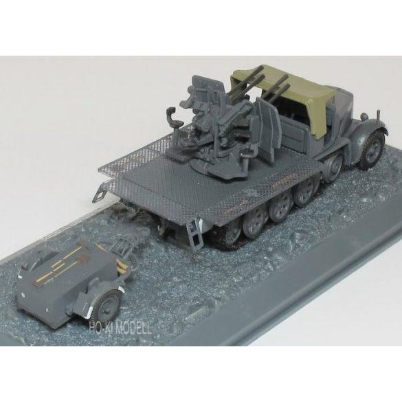 Flakvierling Sd.Kfz 7/1+ trailer - USSR 1942