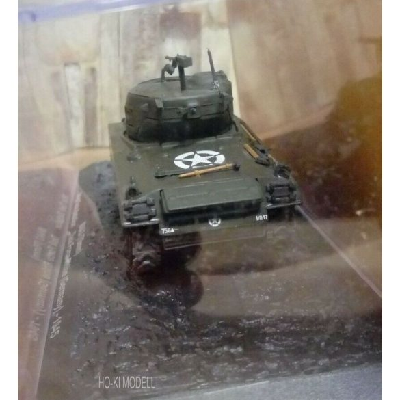 M4A3 Sherman 76mm 761st Tank Battalion Task Rhine Germany -1945