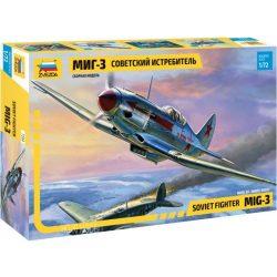 Zvezda 7204 MiG-3 Soviet Fighter