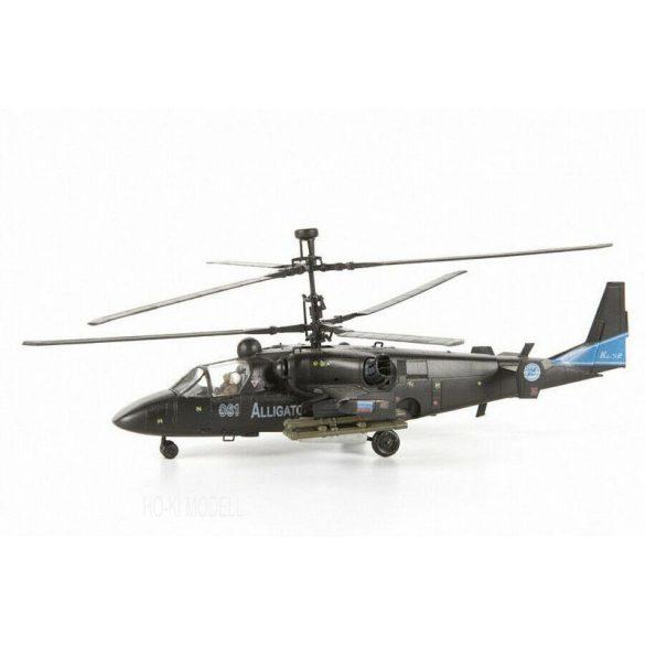 Zvezda 7224 Russian Attack Helicopter Alligator KA-52