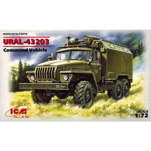 ICM 72612 Ural 43203 Command Vehicle