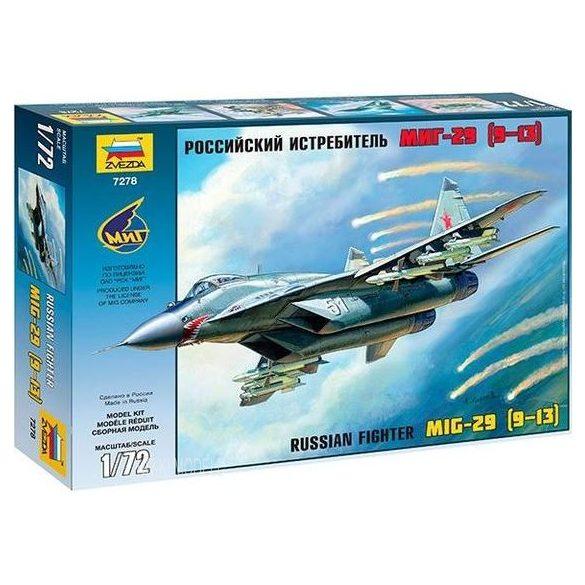 Zvezda 7278  MiG-29  (9-13)