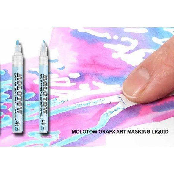 Molotow 728002 Grafx Art Masking Liquid -  Pump Marker 4mm Folyékony Maszkoló