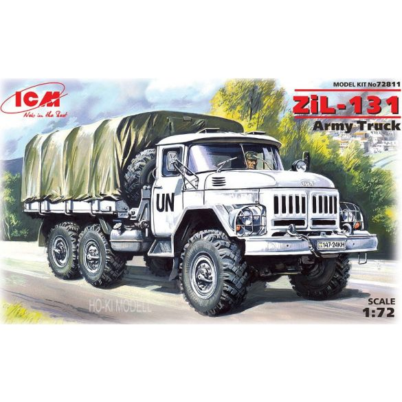 ICM 72811 ZiL-131 6×6 truck UN Forces Army Truck