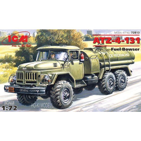 ICM 72813 ZiL ATZ-4-131 6x6  Fuel Bowser - Üzemanyag Szállító Tartályos Tehergépkocsi