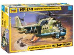Zvezda 7315 Soviet Attack Helicopter MI-24P