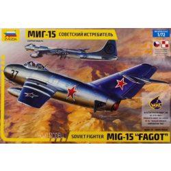 "Zvezda 7317 Soviet fighter Mig-15 ""Fagot"""
