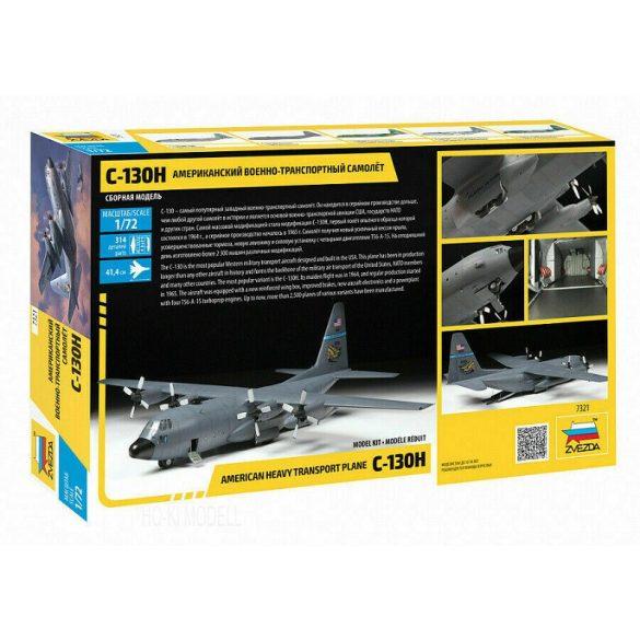 Zvezda 7321 American Heavy Transport Plane C-130H