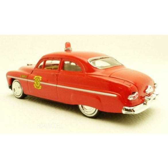 Motormax Mercury Coupe Fire Chief -1949