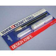 Tamiya 74020 modellező szike, cserélhető pengével+30 db. tartalék pengével