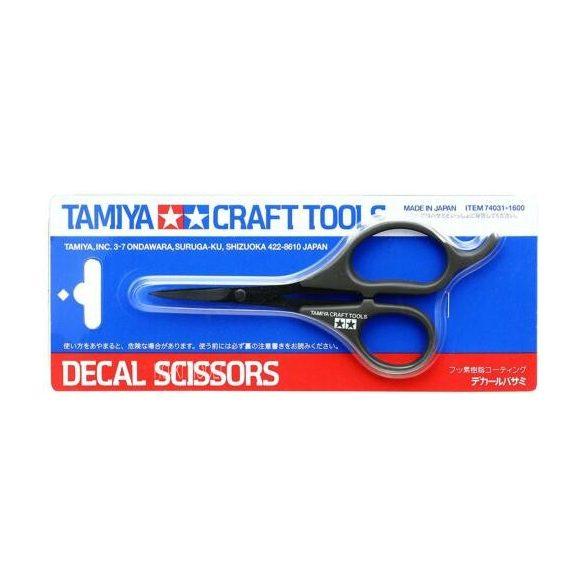 Tamiya 74031 Decal Scissors Matrica Olló