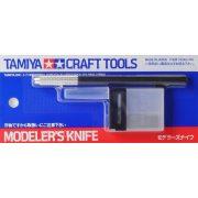 Tamiya 74040 modellező szike, cserélhető pengével+25 db. tartalék pengével
