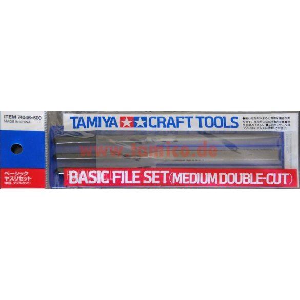 Tamiya 74046  -  3 darabos reszelő készlet