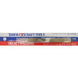 Tamiya 74052 Decal Tweezers - Matricázó csipesz