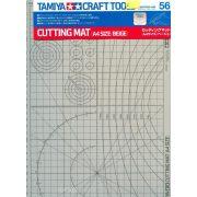 Tamiya 74056 Vágószőnyeg A4-es méretben - beige szinben