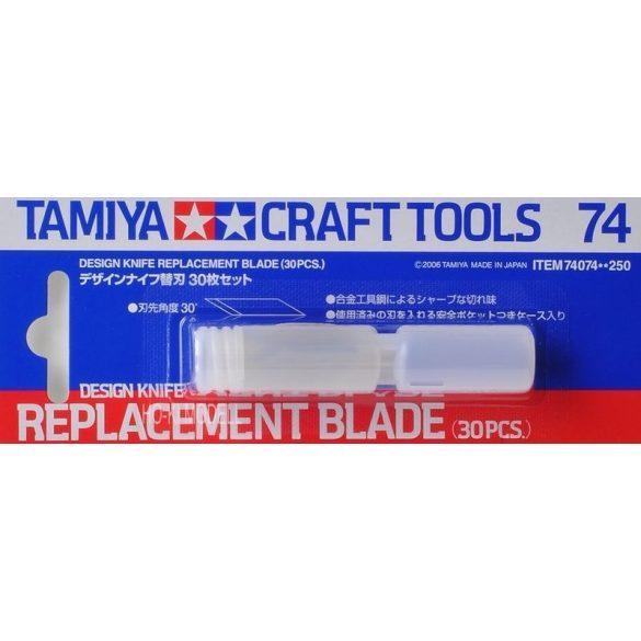 Tamiya 74074 tartalék penge (30db)74020-as modellező szikéhez