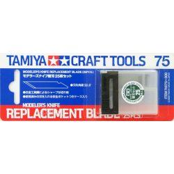 Tamiya 74075 tartalék penge (25db)74040-es modellező szikéhez
