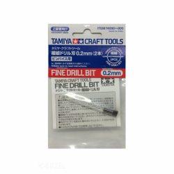 Tamiya 74090 fúrószárak 2db (0,2 mm)