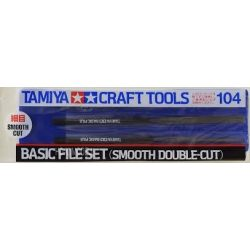 Tamiya 74104 3 darabos reszelő készlet