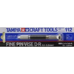 Tamiya 74112 kézi fúró New Fine Pin Vise D (0.1-3.2mm)
