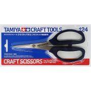 Tamiya 74124 Modellező Olló (kizárólag műanyag és puha fém alkatrészekhez)