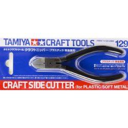 Tamiya 74129 oldalcsípő fogó (kizárólag műanyag és puha fém alkatrészekhez)