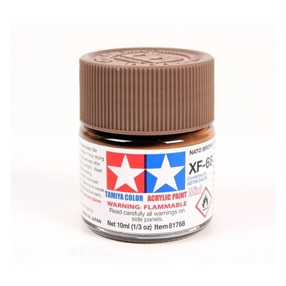 Tamiya 81768 MINI XF-68 NATO BROWN
