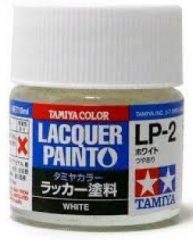 Tamiya 82102 LP-2 White - Gloss