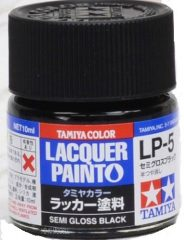 Tamiya 82105 LP-5 Semi Gloss Black