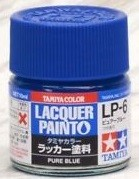 Tamiya 82106 LP-6 Pure Blue - Gloss