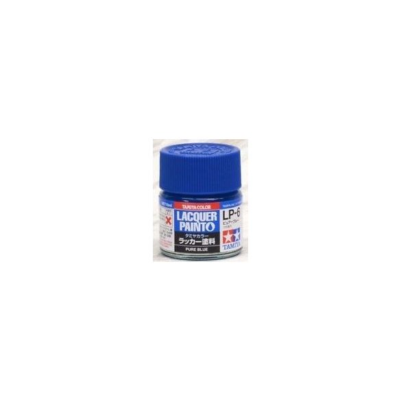 Tamiya 82106 LP-6 Pure Blue - Gloss