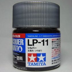 Tamiya 82111 LP-11 Silver - Metallic Gloss