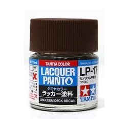 Tamiya 82117 LP-17 Linoleum Deck Brown - Flat