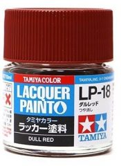 Tamiya 82118 LP-18 Dull Red - Flat