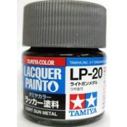 Tamiya 82120 LP-20 Light Gun Metal - Gloss
