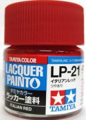 Tamiya 82121 LP-21 Italian Red - Gloss