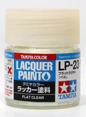 Tamiya 82123 LP-23 Flat Clear - Flat
