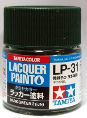 Tamiya 82131 LP-31 Dark Green 2 (IJN) - Semi Gloss