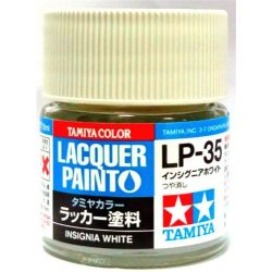 Tamiya 82135 LP-35 Insignia White - Flat