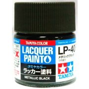Tamiya 82140 LP-40 Metallic Black - Gloss