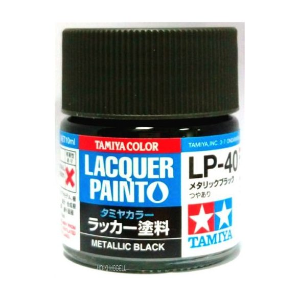Tamiya 82140 LP-40 Gloss Metallic Black