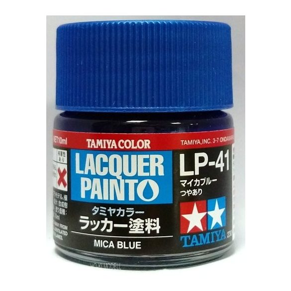 Tamiya 82141 LP-41 Gloss Mica Blue