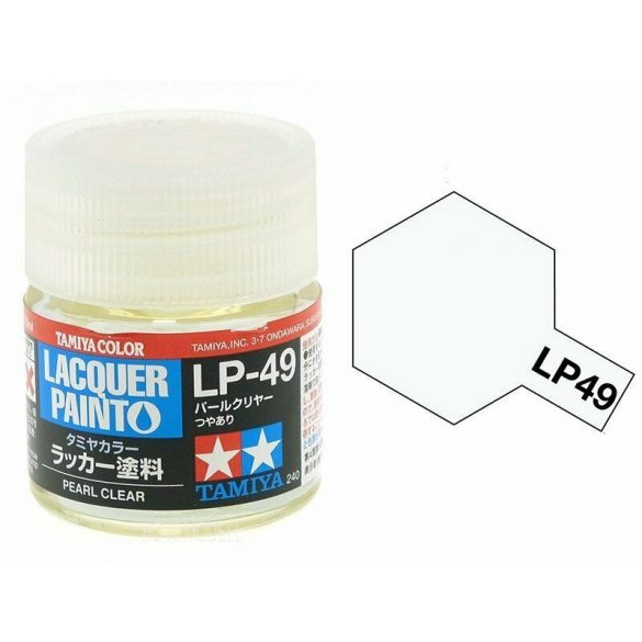Tamiya 82149 LP-49 Gloss Pearl Clear
