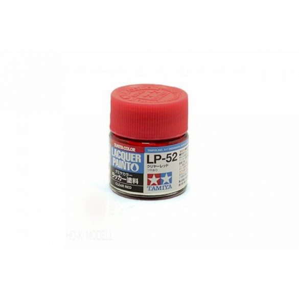 Tamiya 82152 LP-52 Clear Red - Gloss